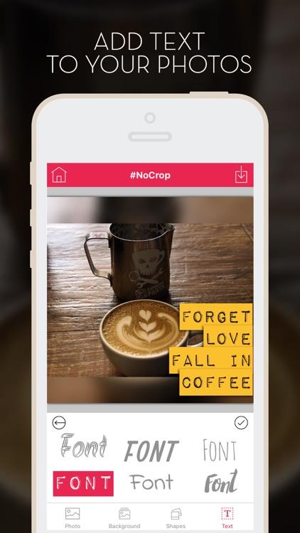 NoCrop - Post full size photos (Instagram edition) screenshot-4