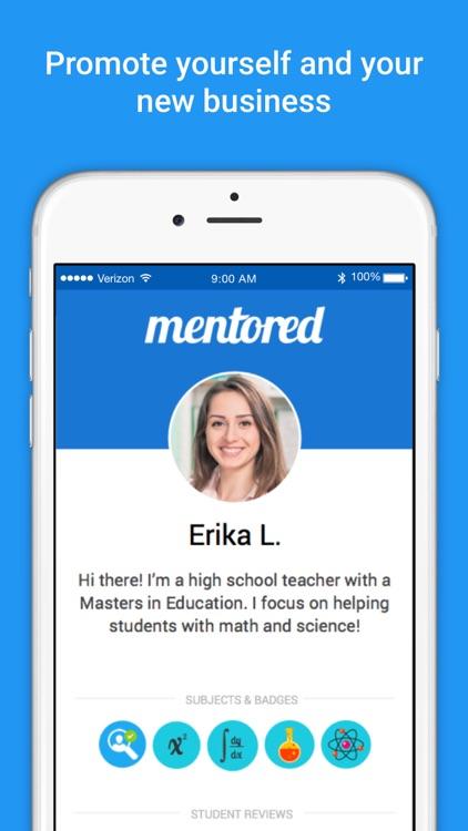 Mentored — On-Demand Live Tutor Help; Math & More screenshot-4