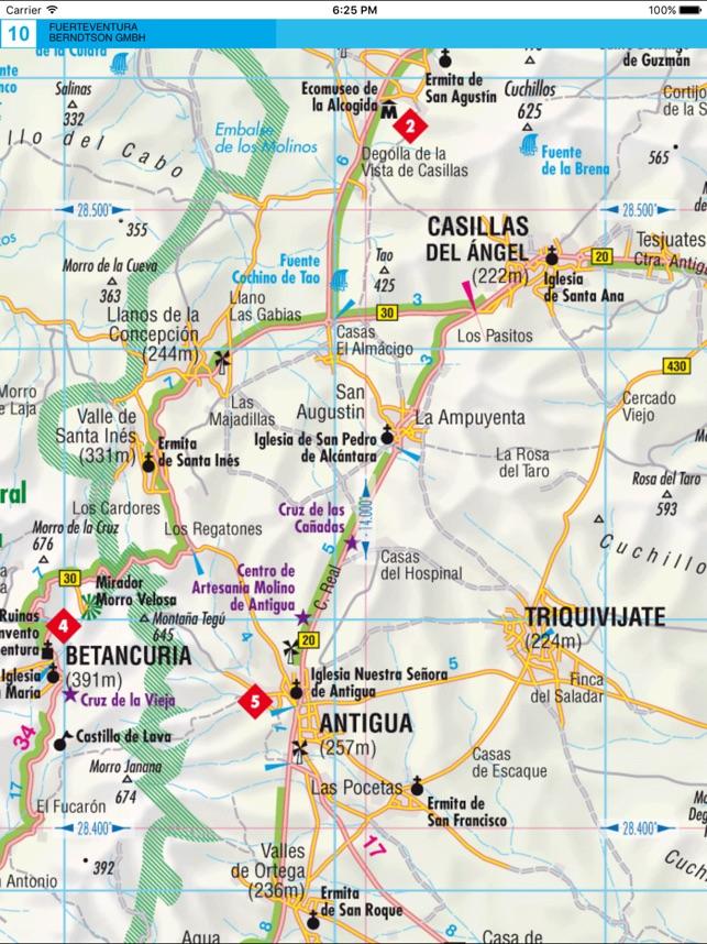 Fuerteventura Road map on the App Store