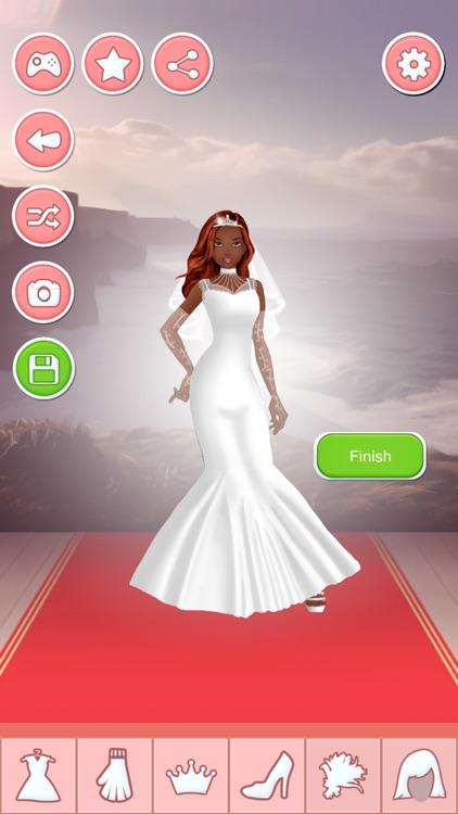Bride Dress Up Game - Wedding Makeover Salon screenshot-4