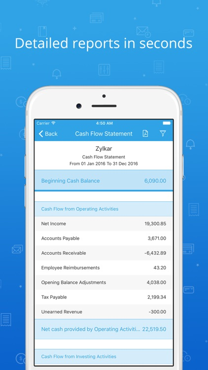 Accounting app - Zoho Books screenshot-4