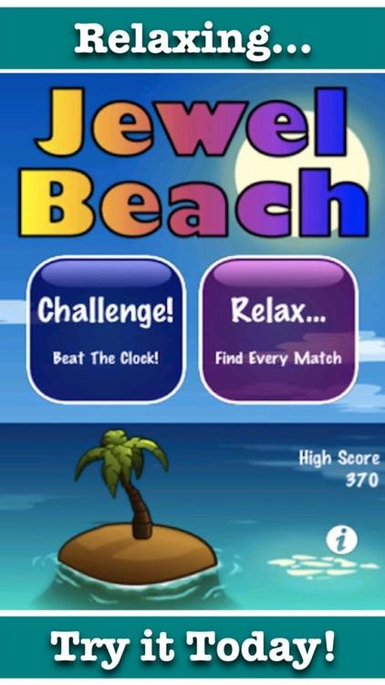 Jewel Beach - Gem Blitz Solitaire! screenshot-3