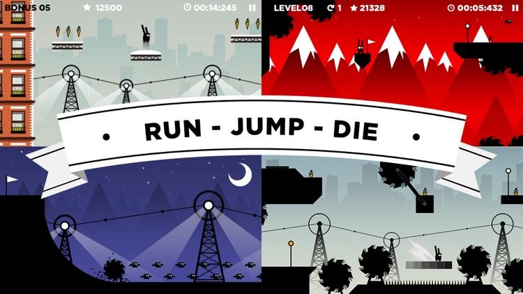 Run Rabbit Run: Hardcore Platformer screenshot-0