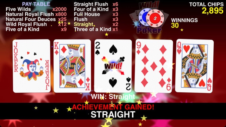 Wild Dream Poker - Deuces Wild