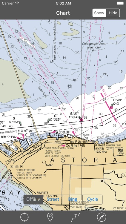 Columbia River – Raster Nautical Charts screenshot-4