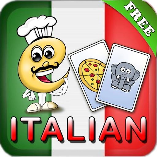 Learn Italian Baby Flash Cards
