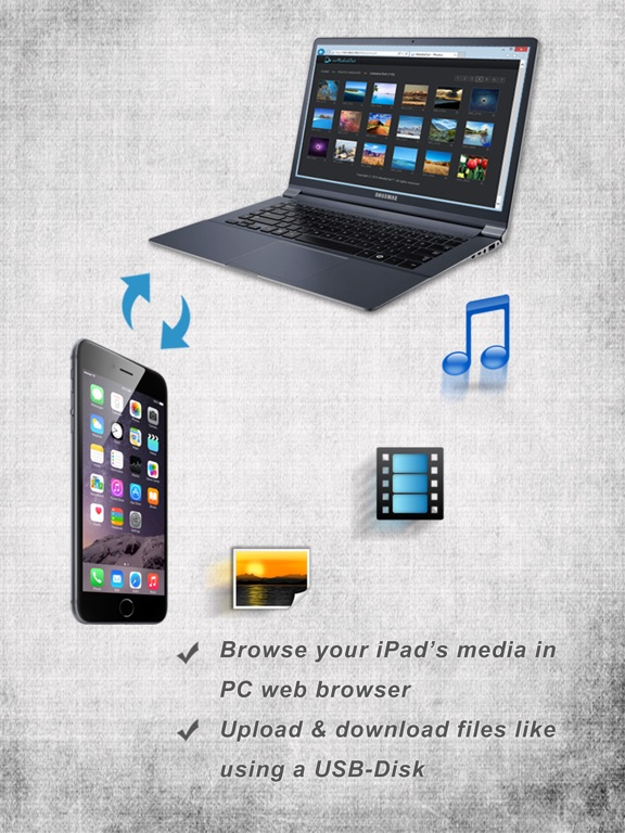 iMediaOut - Easy file transfer Screenshots