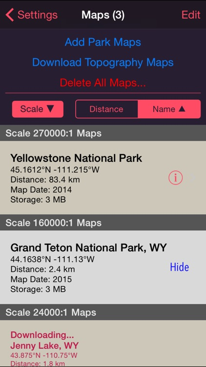 NP Maps - Yellowstone screenshot-4