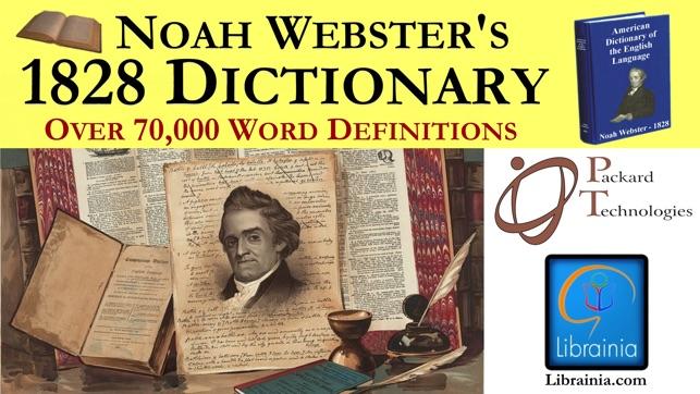 noah webster 1828 dictionary free download