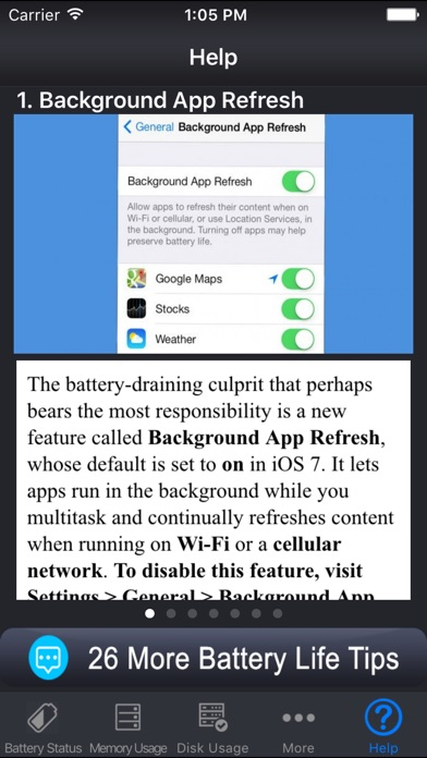 Battery Manager √ Скриншоты3