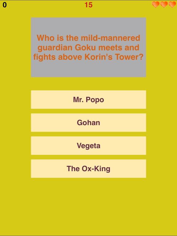 Trivia for Dragon Ball Super - Super Fan Quiz for Goku's Universe. - Collector's Edition-ipad-1
