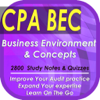 CPA Business Environment & Concepts (BEC): 2800 Study Notes & Quizes (Principle & Practices)