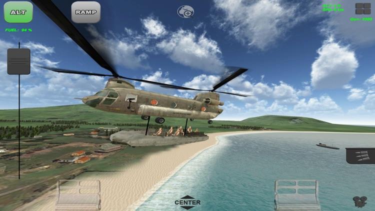Chinook Ops - Carrier Combat Flight Simulator screenshot-4