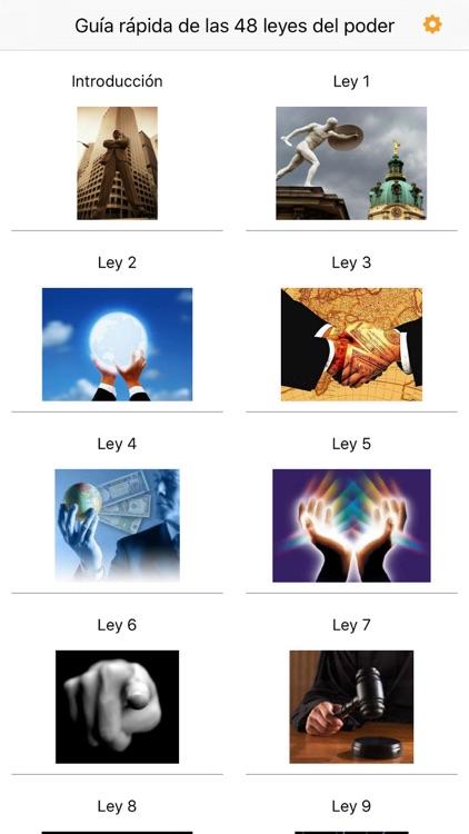 Guía Rápida de las 48 Leyes del Poder