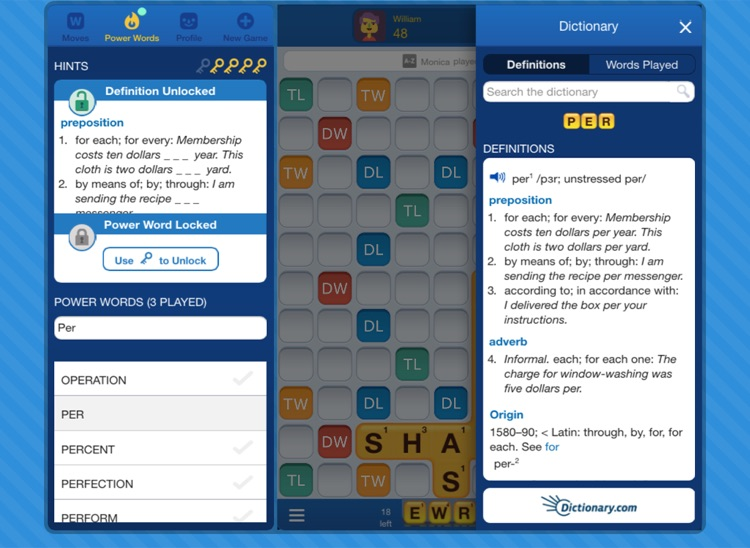 Words With Friends EDU