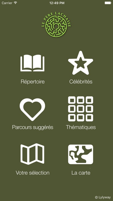 Screenshot for Père Lachaise App in Canada App Store