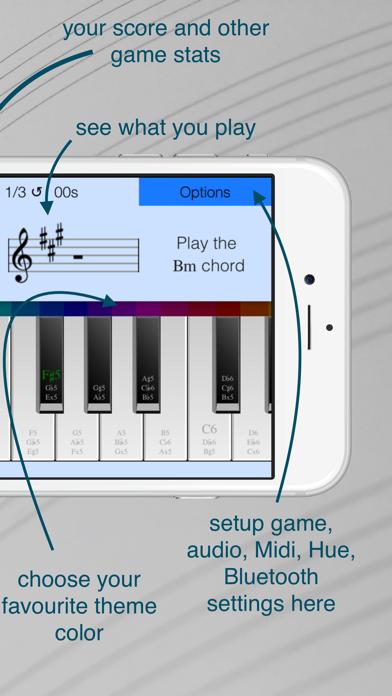 Play Chords Piano Gameのおすすめ画像2