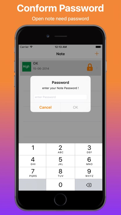 Note Privacy Manager Pro screenshot three