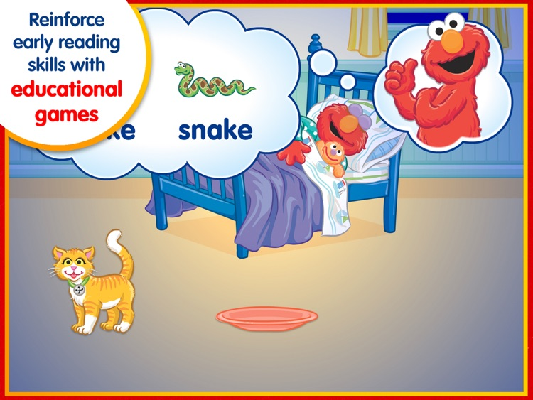 Elmo's Big Birthday Bash! – A Sesame Street Step Into Reading App screenshot-4