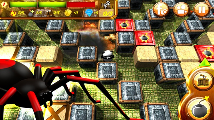 Hero Panda Bomber Ultimate screenshot-3