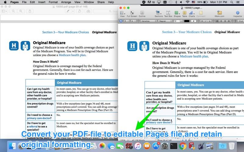PDF to iWork - @ PowerfulPDFSoft Inc.