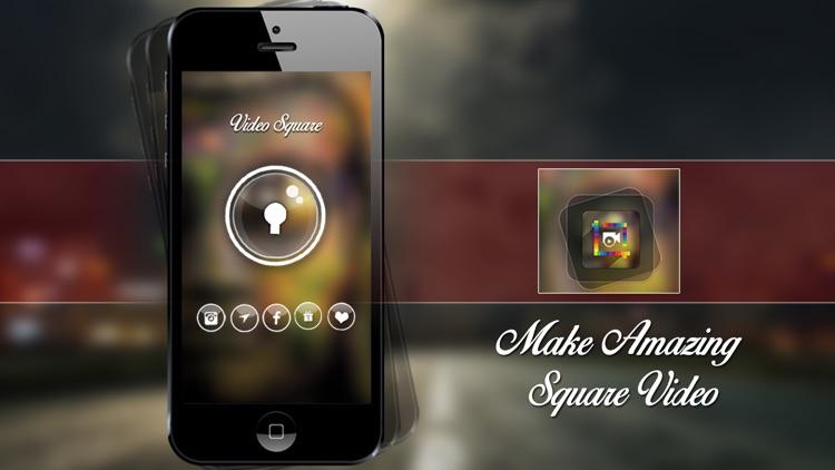 VideoSquare - Portrait and Landscape video to square screenshot-3