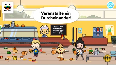 Screenshot for Toca Life: School in Switzerland App Store