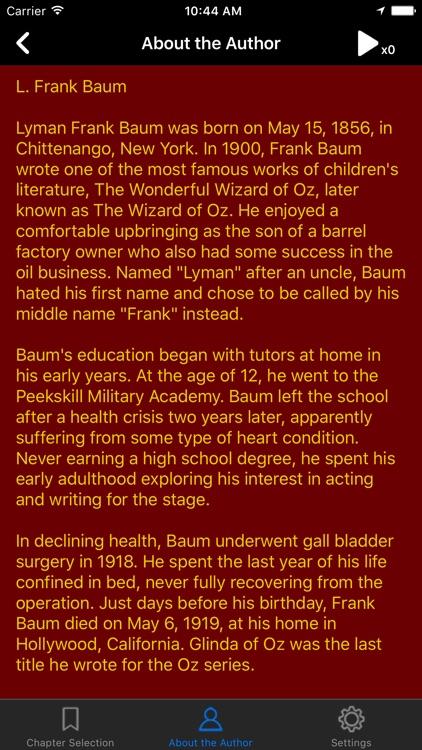 The Wonderful Wizard of Oz! by L. Frank Baum screenshot-3