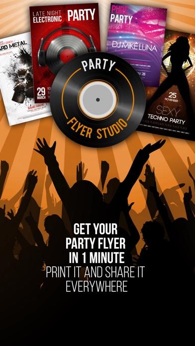 party flyer studio app price drops