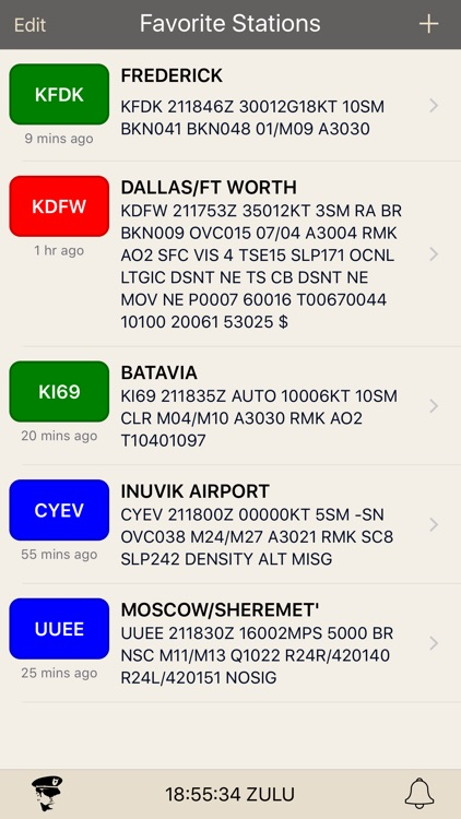 METARs Aviation Weather screenshot-0