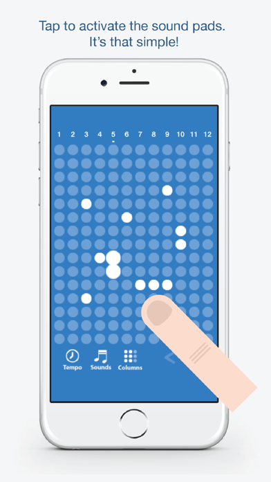 Screen Shot Tones - Fun and easy to use music creation app 0