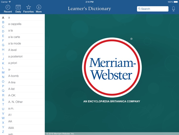 Learner's Dictionary - English HD