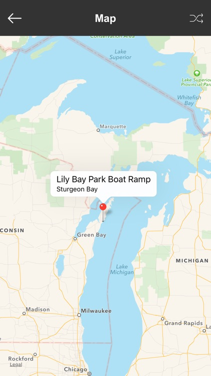 Wisconsin Boat Ramps & Fishing Ramps screenshot-3