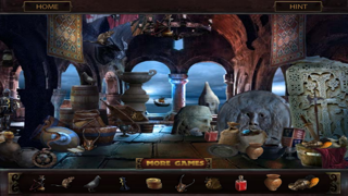 Land Of The Giants - Mysterious Island, Hidden Object screenshot two