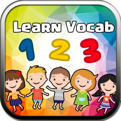 Number 123 - Baby School Coloring Flash Cards Memory Quiz Learning Games for Kids iOS App