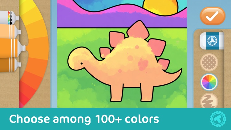Toonia Colorbook - Educational Coloring Game for Kids & Toddlers