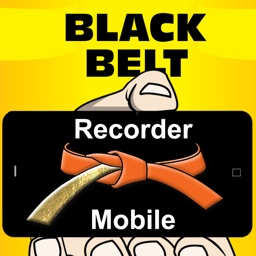 Black Belt Recorder Orange Mobi