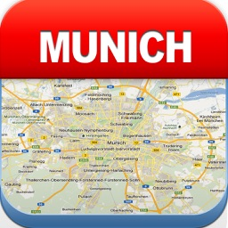 Munich Offline Map - City Metro Airport