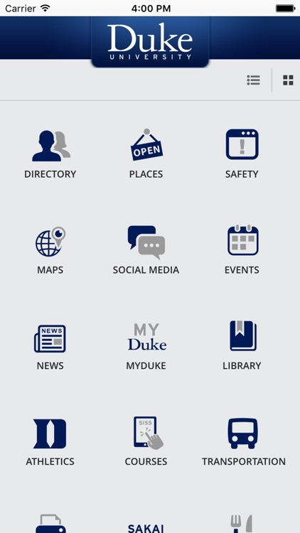 DukeMobile screenshot-0