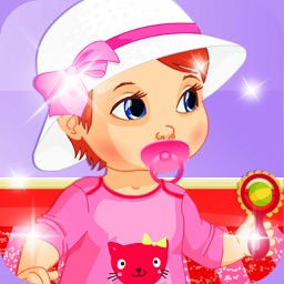 Mommy Baby Dress Up Room Design Painting: Game for kids toddlers and boys