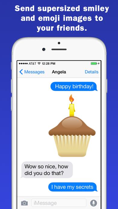 Smileys & Emoji Keyboard - Supersized GIFs Edition screenshot one