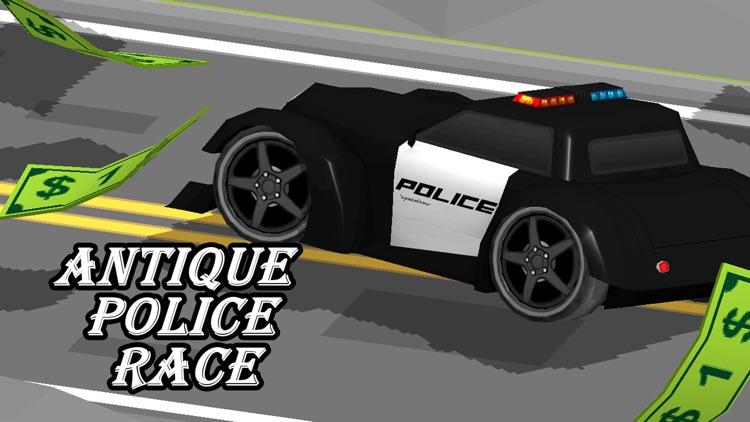 3D Zig-Zag Crazy Car -  Moto Mad Police Car with Maze Road Run