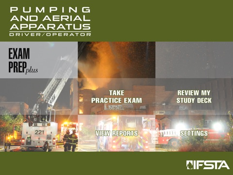 Pumping and Aerial Apparatus Driver Operator 3rd Edition Exam Prep Plus ipad images