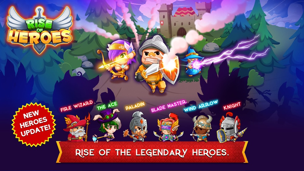 Rise of Heroes Cheat Codes
