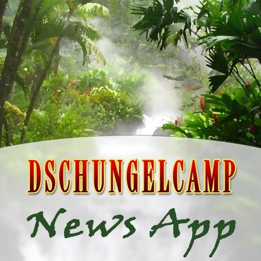 Dschungelcamp News App 2016 - Die neue Dschungel App mit allen Infos zu Stars und News über das Dschungelcamp! icon