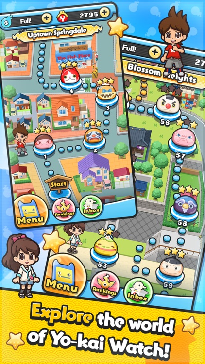 YO-KAI WATCH Wibble Wobble screenshot-4