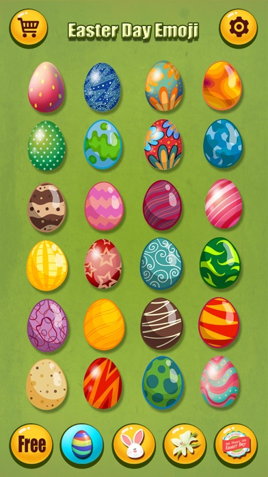 screenshot 9 for happy easter emoji s pro holiday emoticon sticker for message