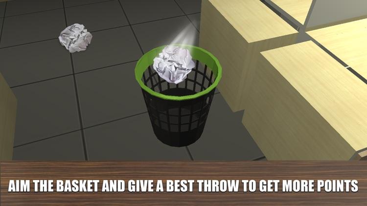Paper Throw 3D screenshot-3
