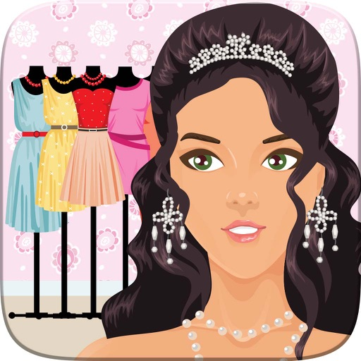 Dress Up Celebrity Fashion Party Game For Girls - Fun Beauty Salon With Teen Cute Girl Makeover Games Icon
