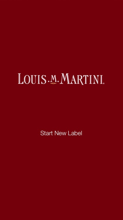 Louis M. Martini Labeler